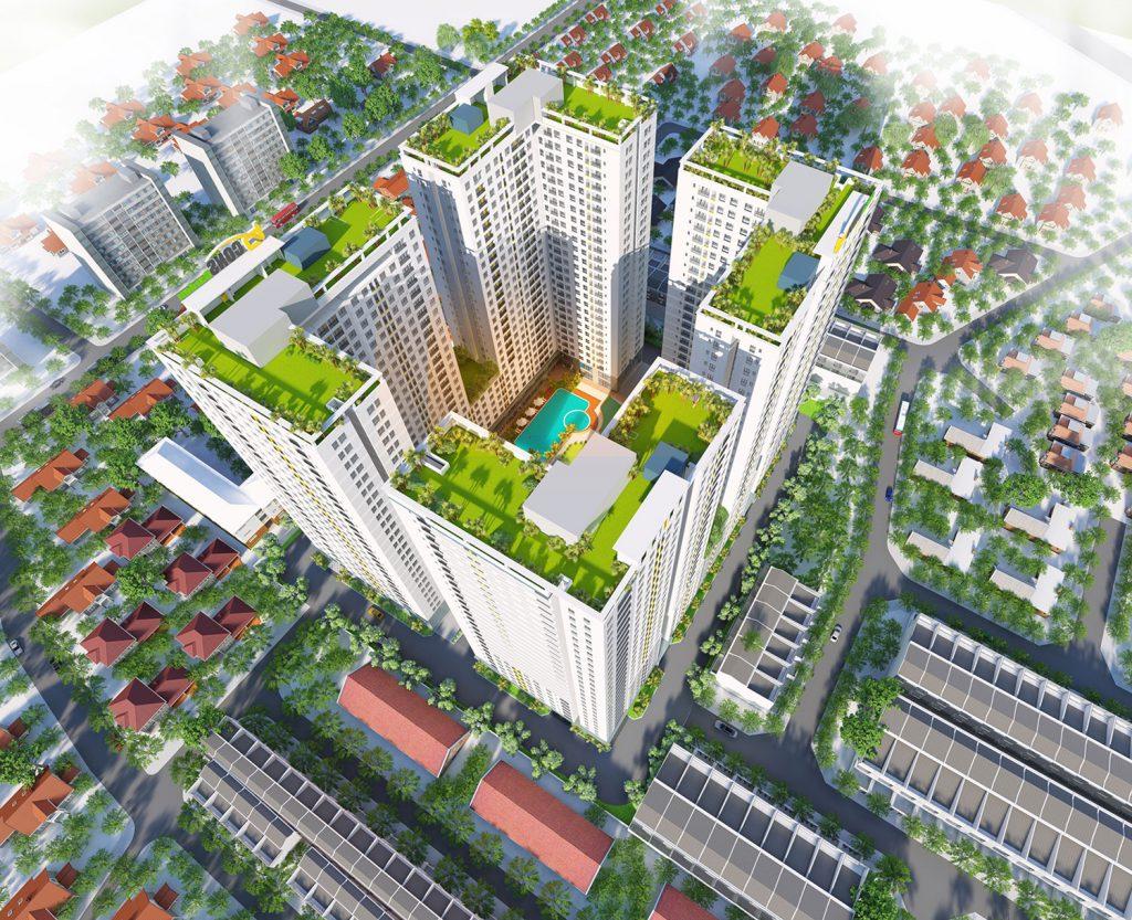 Dự án căn hộ Bcons Garden Bình Dương